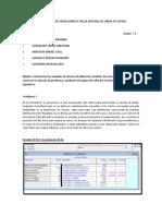INVESTIGACIÓN DE OPERACIONES II TALLER INTEGRAL DE LÍNEAS DE ESPERA