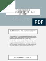 Fundamentos argumentativos – san Agustín (1)