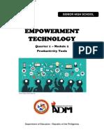 EmpTech11_Q1_Mod2_Productivity-Tools_ver3