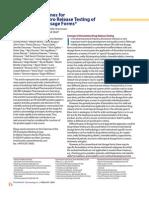 Guidelines for dissolution of novel dosage form