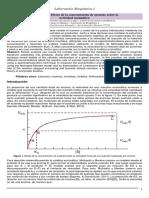 Practica 11. Efecto de la concentración de sustrato sobre la actividad enzimática