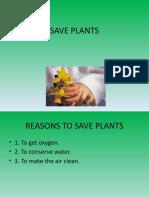 SAVE PLANTS