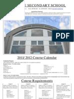School Calendar 2011-2012