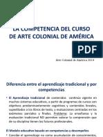 Competencia Arte Colonial de América