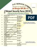 Asf past paper-11