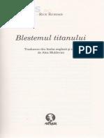 Percy Jackson si Olimpienii 3 Blestemul Titanului - Rick Riordan.pdf