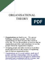 03 organisational theory