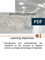 Material Control-Objectives and Techniques