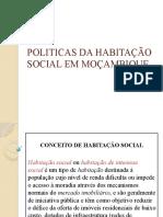 HABITAÇÃO SOCIAL EM MOÇAMBIQUE