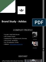 Brand Study & Marketing Plan Preparation