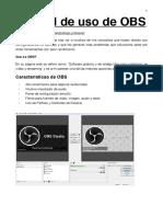 MANUAL Screencast y Streaming (con OBS)