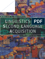 Linguistics and Second Language Acquisition - Vivian Cook.pdf