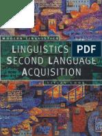 Linguistics and Second Language Acquisition - Vivian Cook.pdf