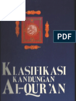 Classification of Al Qur'an's Contents (Original Format)