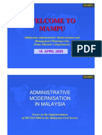 ISO GOVT MALAYSIA.