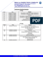 Technician Clarified Schedule for McDonalnds pdf