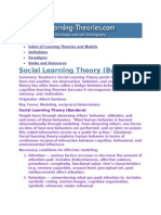 Psychology 2010 - Learning Theories