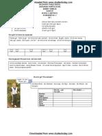 CBSE Class 8 German Worksheet (3)