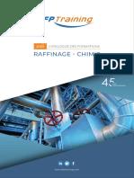 Catalogue Formations métiers du pétrole (Raffinage - Chimie)