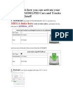 This is how you can activate your AUTOCOMDELPHI Cars and Trucks 2014.3 hex2stuff