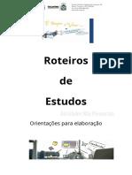 Roteiro de Estudo Interdisciplinar Sugestões (1)
