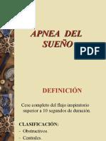 APNEA DEL SUEÑO RCR