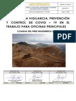 PLAN PARA LA VIGILANCIA PREVENCIÓN Y CONTROL DE COVID 19 OFICINAS CDP FINAL RM - 448 MINSA
