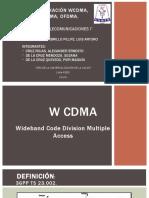 WCDMA-OFDMA-SC FDMA-SERVICIOS DE TELE I-EXPO