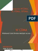 WCDMA-OFDMA-SC FDMA