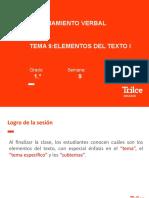 RV–1ro – Elementos del texto I (PPT)