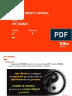 RV–2do – Antónimos (PPT)