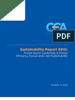Energy Day 2010 Sustainability Publication