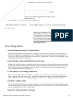 Advertising Myths - Ifs and Buts of the Advertising Industry