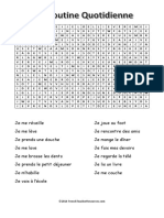 Daily-Routine-Wordsearch-French