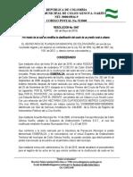 RESOLUCIÓN MODIFICACIÓN EN LA CLASIFICACIÓN DEL SUELO RODOLFO ..docx