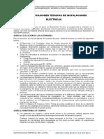 ESPECIFICACIONES - ELECTRICAS-RUMIPITE