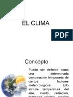 EL CLIMA exposicion