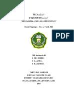 MAKALAH FIQH MUAMALAH