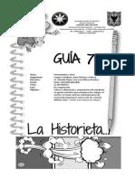 Historieta guia 7 6º