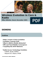 7.Siemens Wireless Evolution in Core and Radio Final
