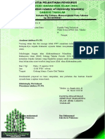 PROPOSAL PELANTIKAN PENGURUS CABANG HMI fix