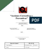 PR-GC-03 Acciones Correctivas
