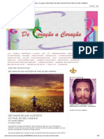 ♥ De Coração a Coração ♥_ DEZ SINAIS DE QUE VOCÊ ESTÁ NO FINAL DO SEU CAMINHO.pdf
