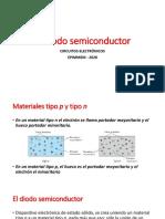 El diodo semiconductor - S7