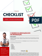 Checklist - Chama o Físico!!