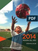 Banco-Interamericano-de-Desarrollo-informe-anual-2014-Reseña-del-año