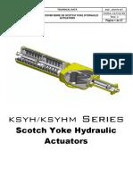 quifer Hydraulic Scotch Yoke Technical Catalogue