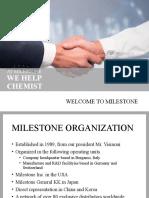 Welcome to Milestone