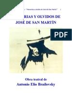 Memorias y Olvidos de José de San Martín