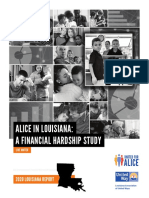 Louisiana ALICE Report Embargoed Until August 6, 2020 Digital Copy